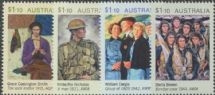 AUS 14/04/2020 Anzac Day 2020 set of 4